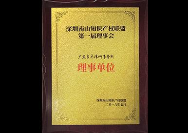 南山知识产权联盟理事单位
